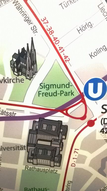 Freud park Vienna