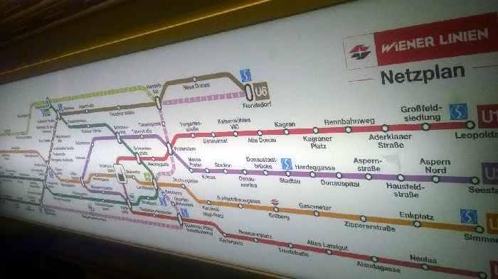 Wien Netzplan
